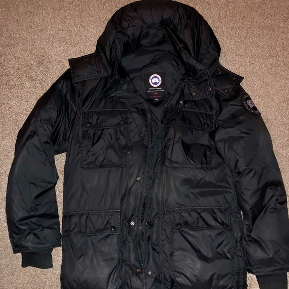 Canada Goose Manitoba Black Label Jacket - Medium